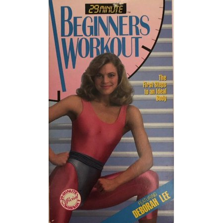 Original 29 Minute Beginners Workout VHS 1988-TESTED-RARE VINTAGE-SHIPS N 24