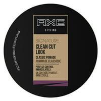 AXE Clean Cut Look, Classic, Hair Pomade for Men, 2.64 oz
