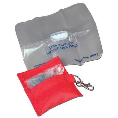 Dynarex 4923 CPR Shield, Univ, White, Disposable, PK100