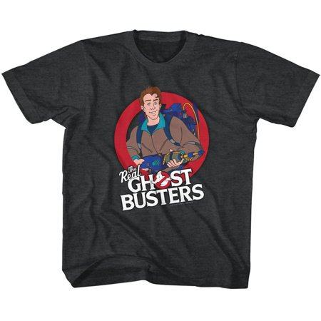 American Classics Real Ghostbusters VENKMAN Black Heather Child Unisex - Ghostbuster Kids