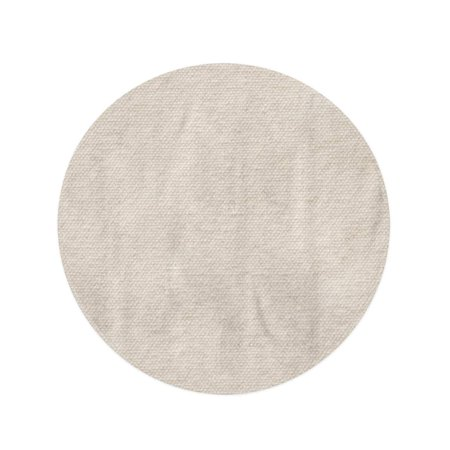 NUDECOR 60 inch Round Beach Towel Blanket Beige Canvas Burlap in Light Sepia Brown Pattern Travel Circle Circular Towels Mat Tapestry Beach Throw - image 1 of 2