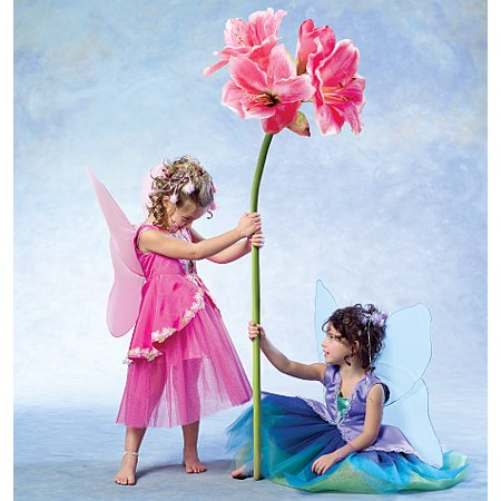 McCall's Children's and Girls' Fairy Costumes, CDD (2, 3, 4, 5) - Children's Halloween Costume Patterns