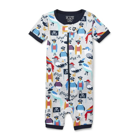 The Children's Place Baby and toddler boys pirate birds print stretchie (baby and toddler boys)](Baby Pirate Clothes)