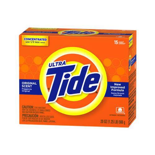 Procter & Gamble 27782 Regular Scent Powder Detergent, 20-oz.