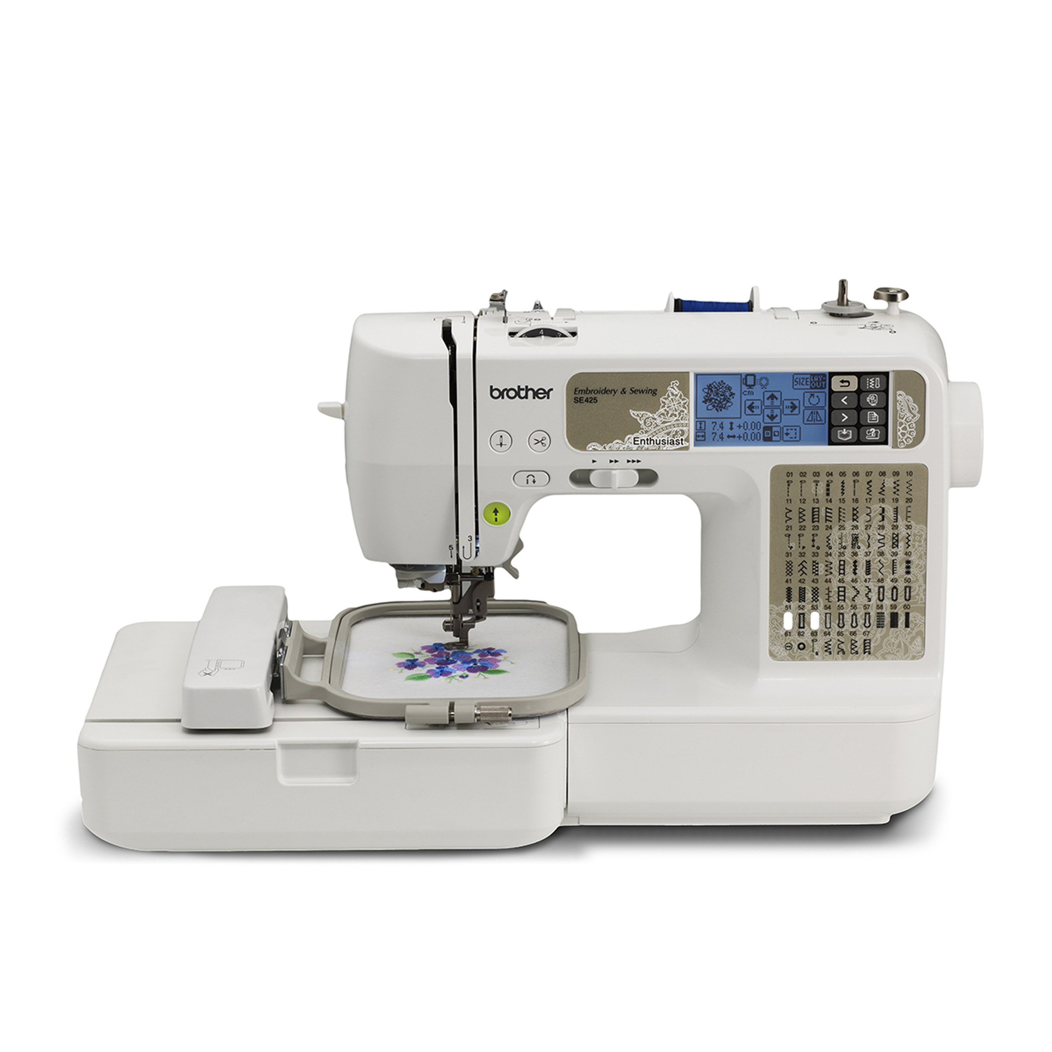 Brother Sewing And Embroidery Machine Se425 Kenmore Model 12 Threading Diagram