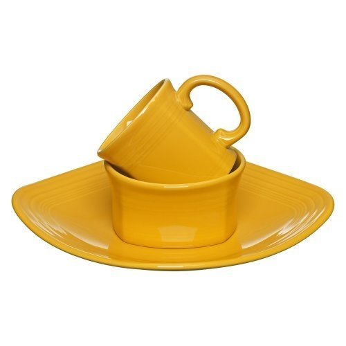 3 Piece Place Setting Color: Marigold by Fiesta Cookware