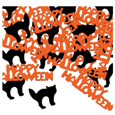 Fanci-Fetti Happy Halloween And Cat Confetti Celebration Party Decoration - Mickey's Halloween Celebration 2017