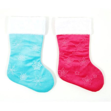 ddi 2127640 felt embroidered christmas stockings case of 36