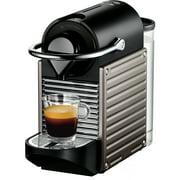 Breville Nespresso Pixie Single-Serve Espresso Machine in Electric Titanium