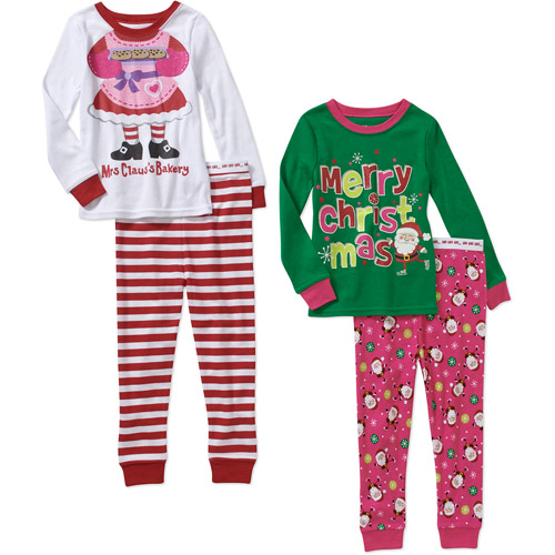 baby Toddler Girl Christmas Cotton Tig - Walmart.com