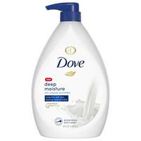 Dove Body Wash Pump Deep Moisture 34 oz