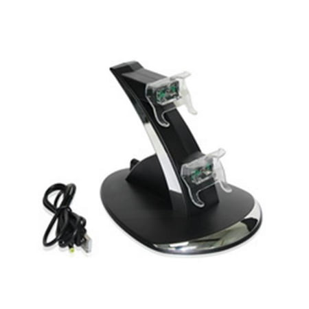 AWA Rocksoul XB-001DCS02 Xbox One Dual Controller Charging Stand, Black