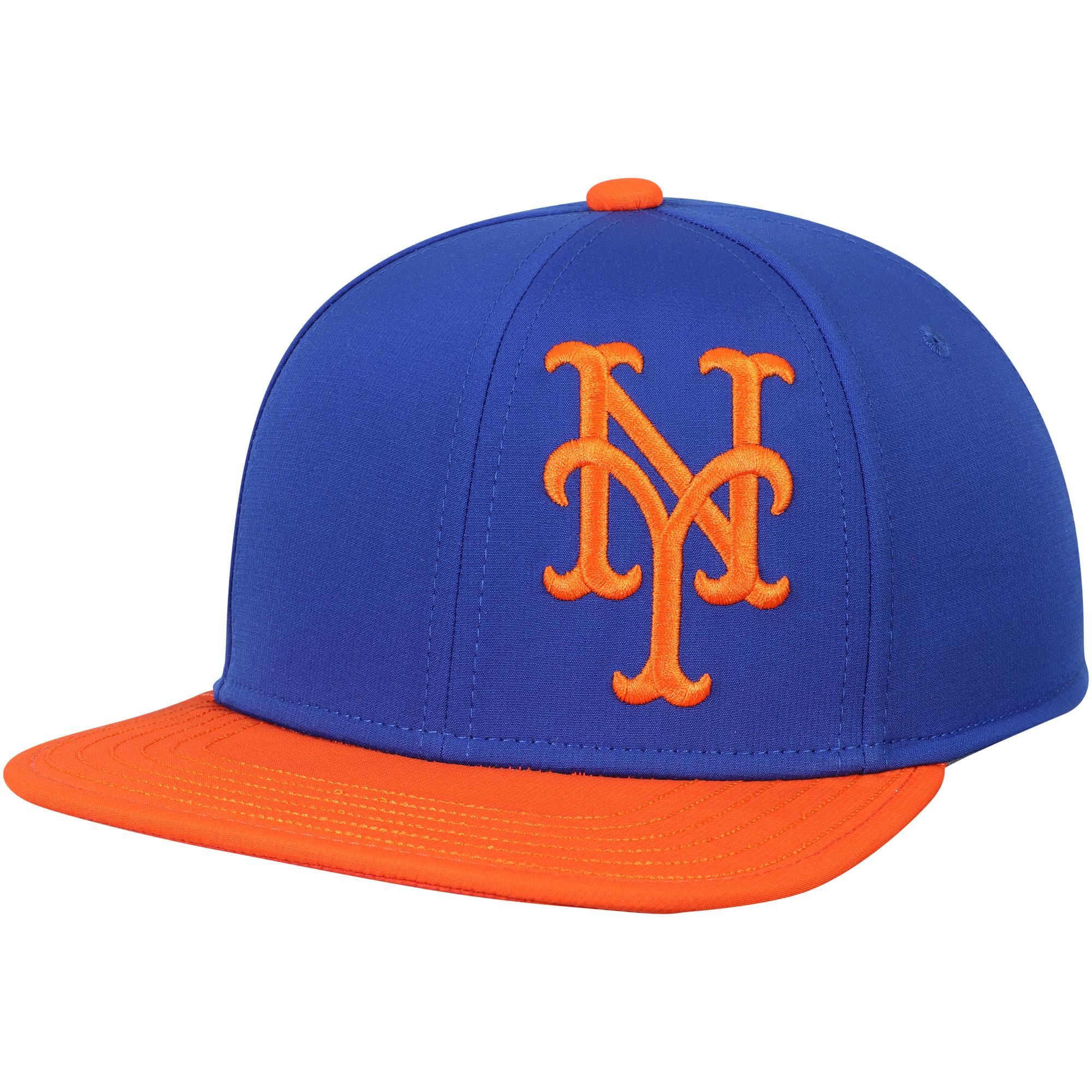 New York Mets Under Armour Youth Big Logo Snapback Adjustable Hat - Royal - OSFA