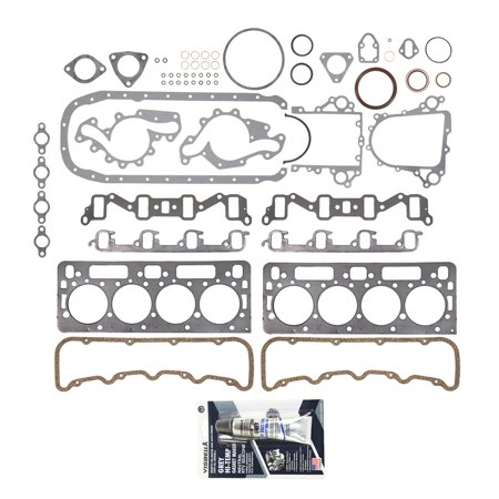Evergreen 9-10465-10 Full Gasket Set 0.010 Thicker Fit 92