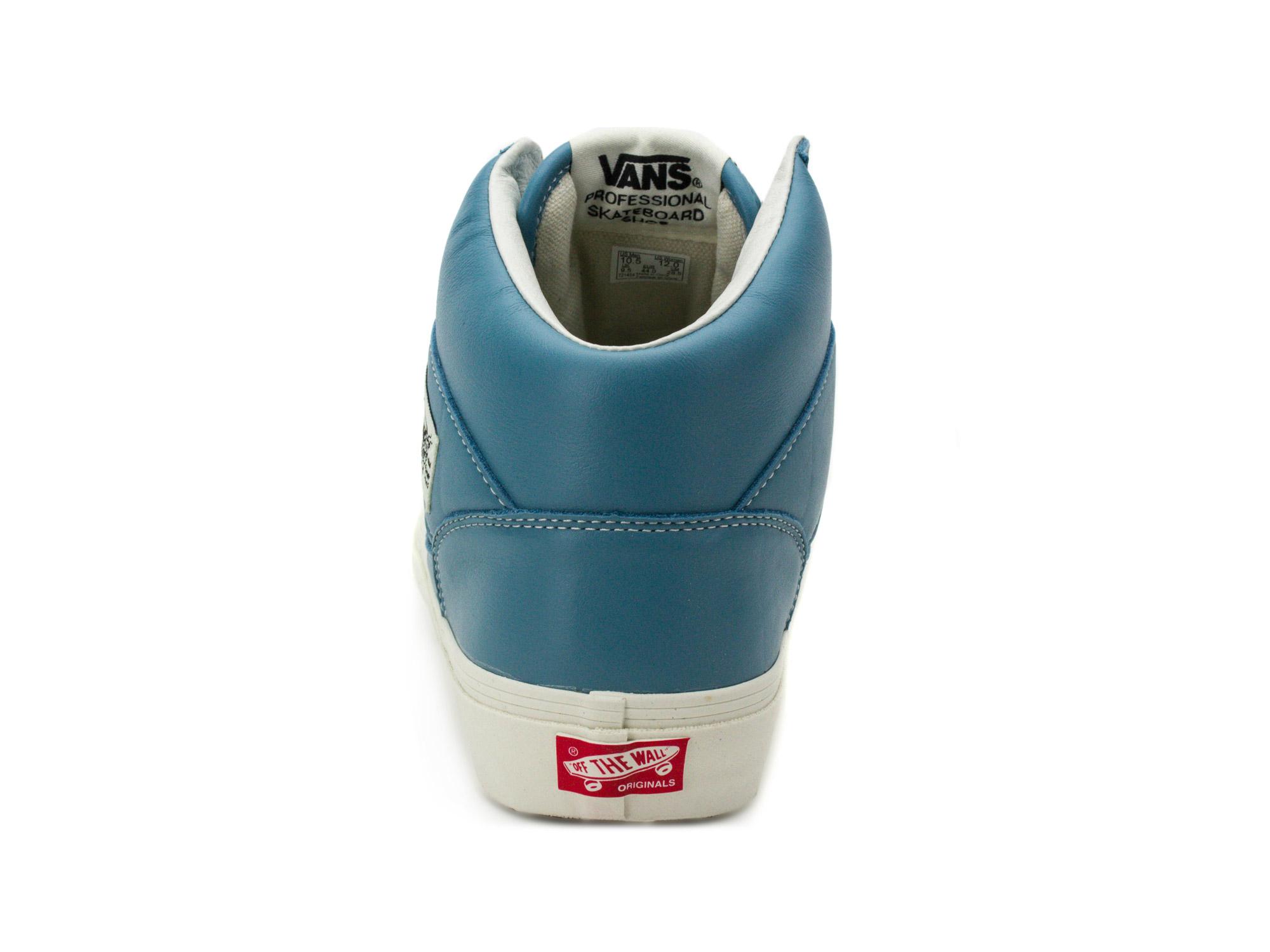 Vans Mens OG Full Cab LX Leather Adriatic Blue VN0A3JOZORQ