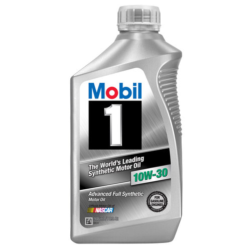 Mobil 1 10W-30 Full Synthetic Motor Oil, 1 qt.