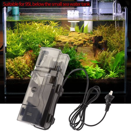 3.5W Removable Aquarium Protein Skimmer with Pump Filter Fish Tank Accessory  , Aquarium Accessory, Fish Tank Protein