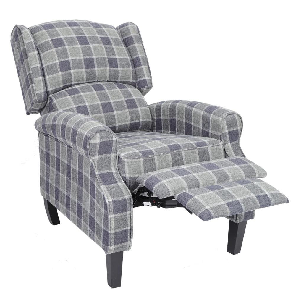 LHCER Recliner chair with swivel back for living room ...
