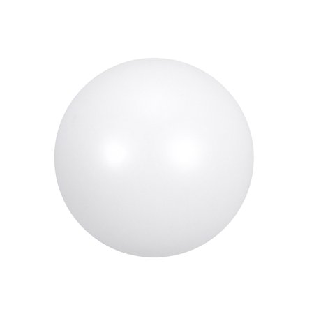 PTFE Ball, 5mm Diameter, Ground Finish, Diaphragm Pneumatic Pump, White