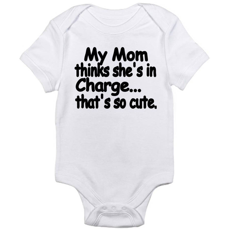 CafePress Newborn Baby I'm in Charge Bodysuit
