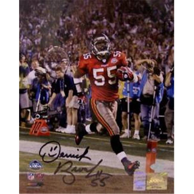 Creative Sports Enterprises A11TB-BROOKS-PSA Derrick Brooks Autographed Hand Signed Tampa Bay Buccaneers 11x14 Photo -