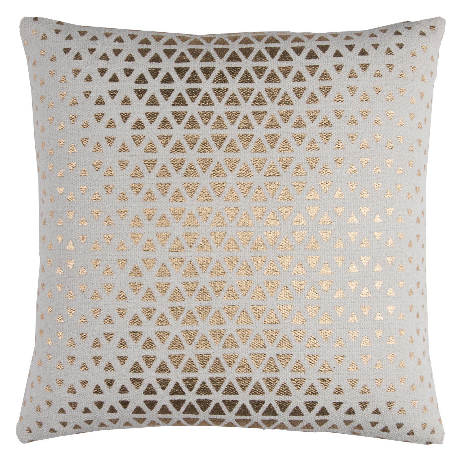 "Rizzy Home T11567 20"" x 20"" Throw Pillow with Zipper Closer"