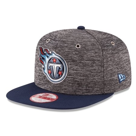 Tennessee Titans New Era 9FIFTY NFL 2016 Draft Gray Snapback Hat Team Visor by