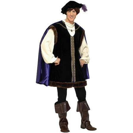Noble Lord Adult Halloween Costume, Men's 46-48 - One Size