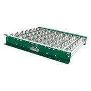 ASHLAND CONVEYOR BTIT270304 Ball Transfer Table,36In L,27BF