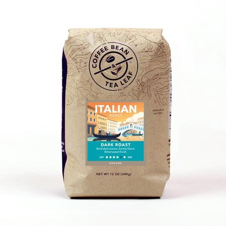 The Coffee Bean & Tea Leaf Italian Roast Dark Roast Ground Coffee 12 oz. Bag