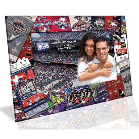 4X6 Picture Frame - 2011 All Star Game - Star Photo Frame