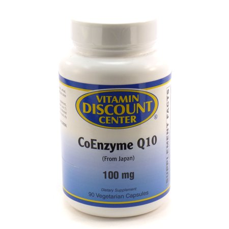 Discount Heart - Coenzyme Q10 100 mg by Vitamin Discount Center 90 Vegetarian Capsules