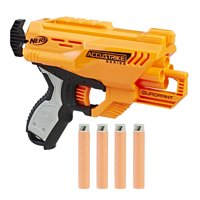 Nerf AccuStrike Elite Quadrant Blaster, for Ages 8 and Up