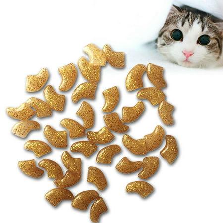- Sweetsmile 20PCS Cat Nail Caps Soft Rubber Pet Cat Paw Claw Control Cat Nail Covers Pet Gromming