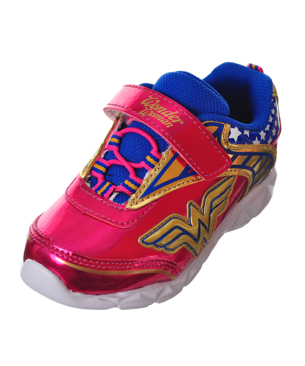 Wonder Woman Girls' Sneakers (Sizes 7 - 12)