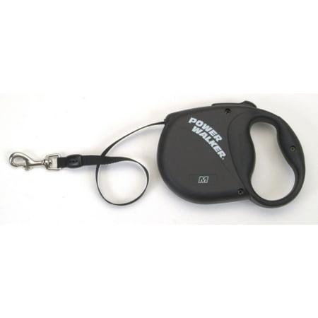 Coastal Leather Dog Leash (Coastal Pet Power Walker Retractable Dog Leash, Medium, Black)