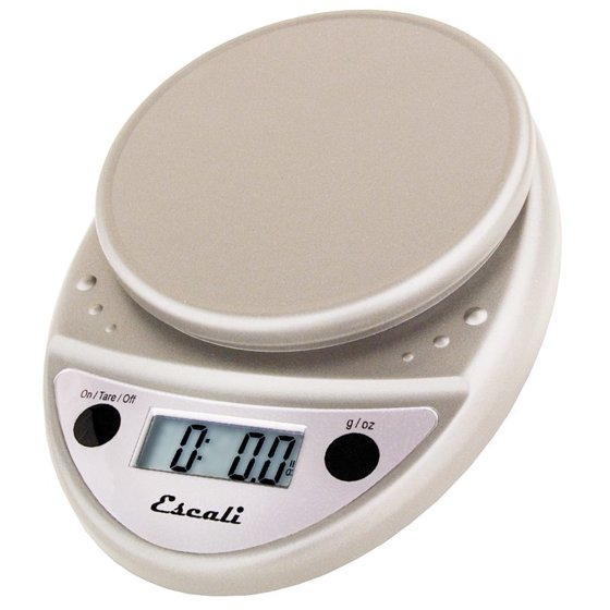 Escali Primo Digital Food Scale P115m Metallic
