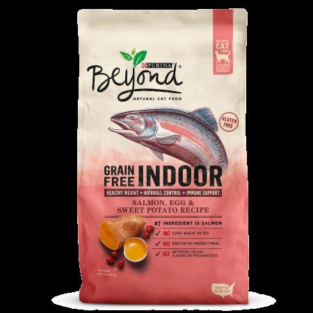 Purina Beyond Indoor Grain Free Salmon, Egg & Sweet Potato Recipe Adult Dry Cat Food, 3 Lb - Halloween Egg Recipes