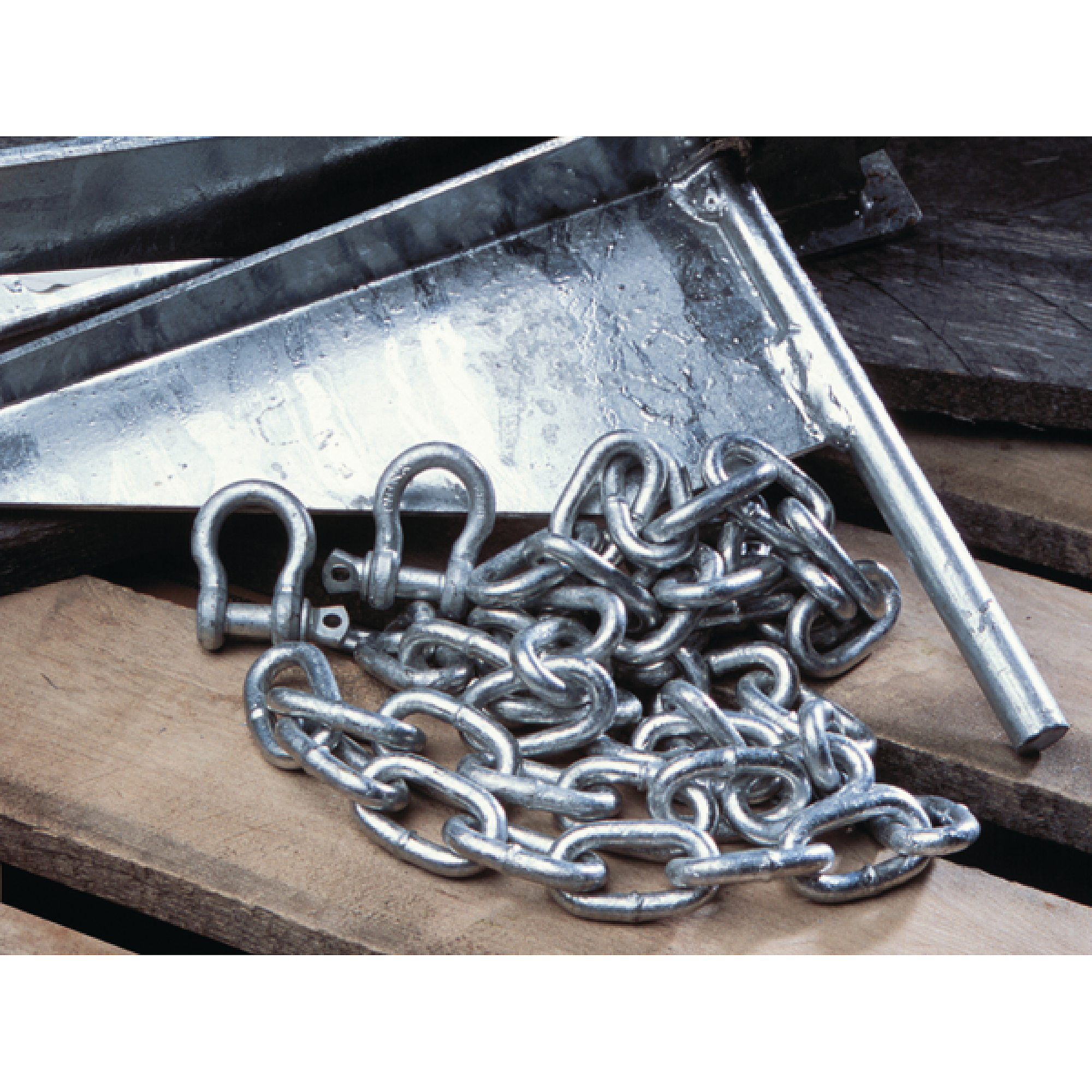 Tie Down Engineering Galvanized Anchor Chain With Expanded Link