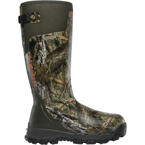 LaCrosse Alpha-Burly Pro Mossy Oak Break Up Boots w  Neoprene Gusset Size 8 by LaCrosse Footwear