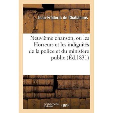 Neuvi�me Chanson, Ou Les Horreurs Et Les Indignit�s de la Police Et Du Minist�re - Chanson Halloween Horreur