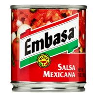 Embasa Salsa Mexicana, Medium, 7 Oz