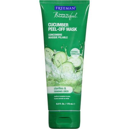Freeman Feelings Beautiful Cucumber Facial Peel-Off Mask, 6.0 FL OZ