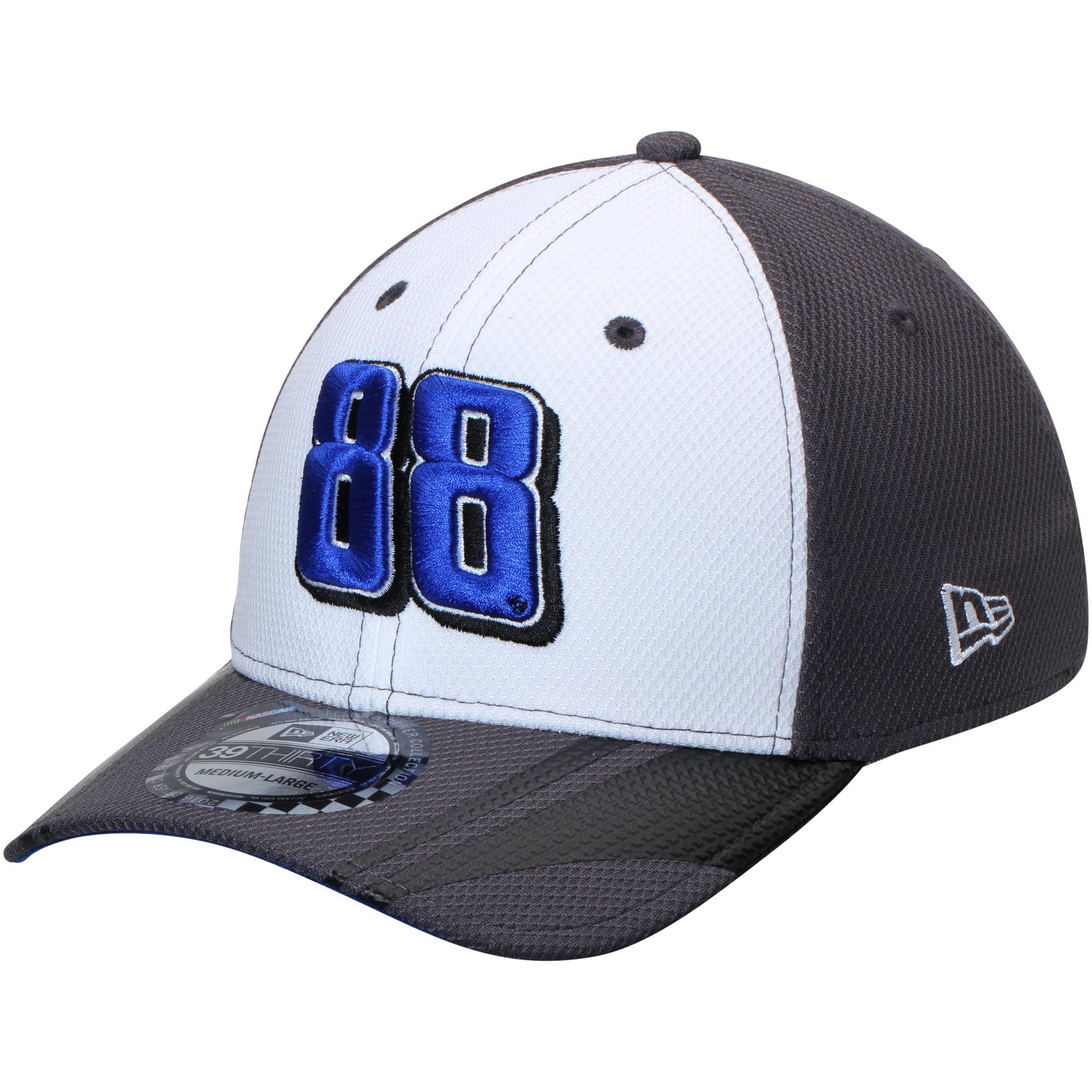 Dale Earnhardt Jr. New Era Alternate Driver 39THIRTY Flex Hat - White/Gray