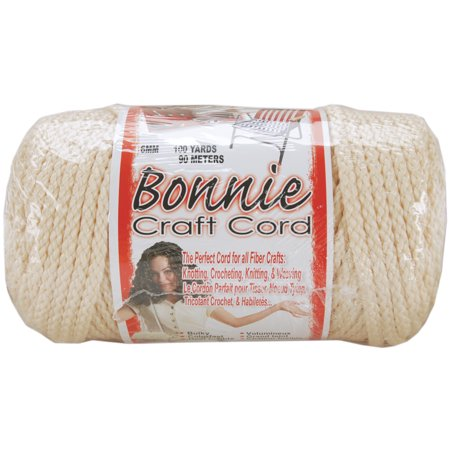 Pepperell Braiding BB6-100-003 Bonnie Macrame Craft Cord 6mm 100 Yards - image 1 de 2
