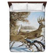 Wild Wings Breaking Cover 2 Queen Duvet Cover White 88X88