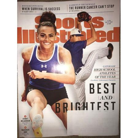 1980 Sports Illustrated Magazine - Sports Illustrated Magazine July 17 2017 SYDNEY MCGLAUGHLIN High School Athlete