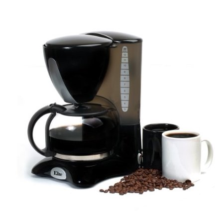 Elite Cuisine EHC-2066X 12-Cup Coffeemaker with Pause and (Best Coffee Pots On The Market)