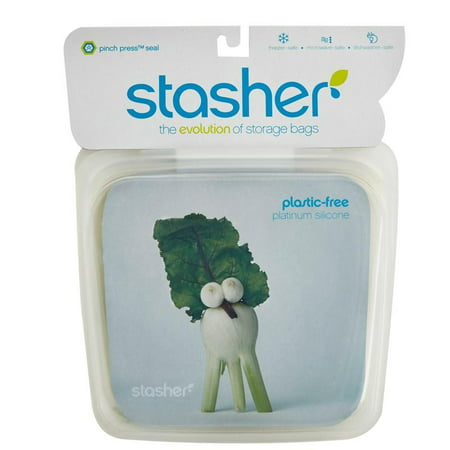 Stasher Reusable Storage Bag - Silicone - Clear - image 1 of 1