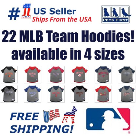 29cefb29e Pets First MLB Colorado Rockies Cat   Dog Hoodie Tee Shirt - Walmart.com